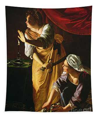 Judith And Maidservant With The Head Of Holofernes Tapestry