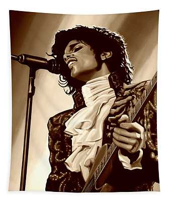 Prince The Artist Tapestry