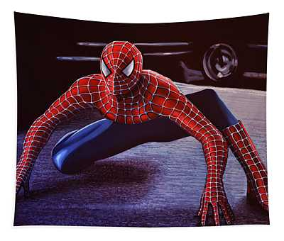 Spiderman 2  Tapestry