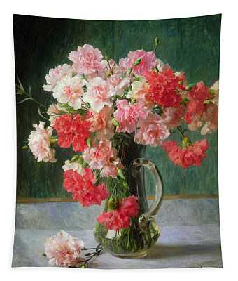 Still Life Of Carnations   Tapestry