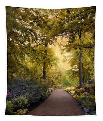 The Golden Walkway Tapestry