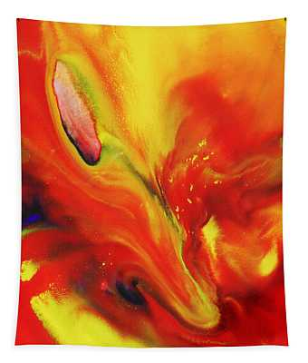 Vivid Abstract Vibrant Sensation II Tapestry