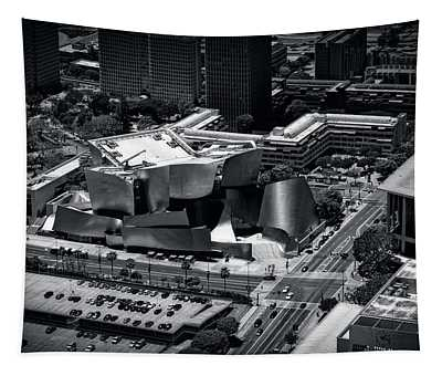 Aerial View Of The Walt Disney Concert Hall Tapestry