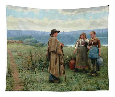 An Idle Moment Tapestry
