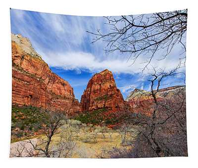 Angels Landing Tapestry