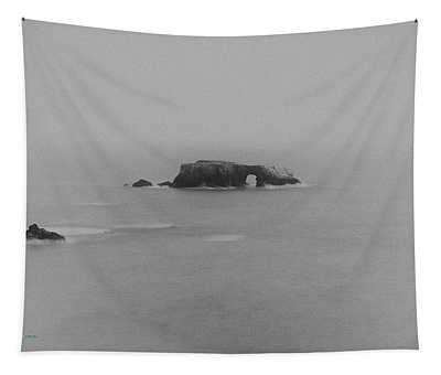 Arch Rock After Dark Tapestry