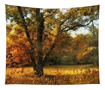 Tapestry featuring the photograph Autumn Arises by Jessica Jenney