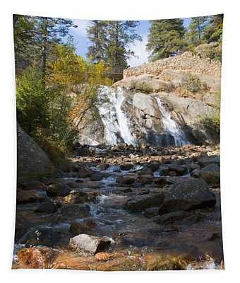 Autumn At Helen Hunt Falls Colorado Tapestry