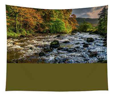 Autumn Rapids Tapestry