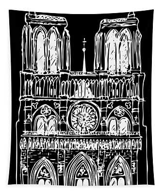 Basilica Notre Dame Tapestry