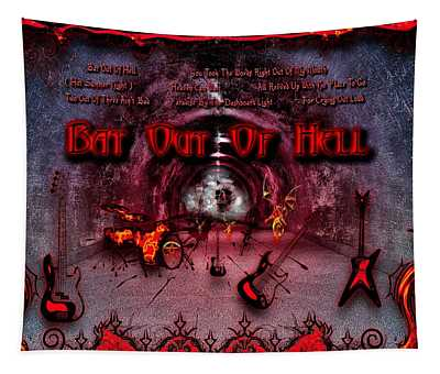 Bat Out Of Hell Tapestry