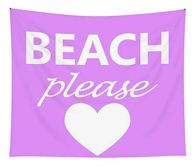 Beach Please Tapestry