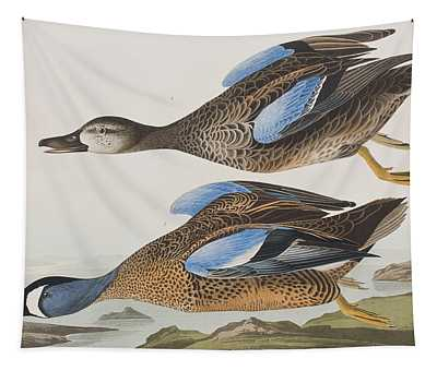 Blue Winged Teal Tapestry