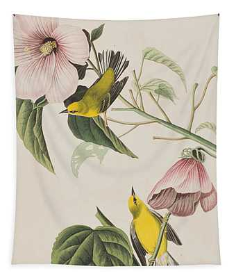 Blue-winged Yellow Warbler  Tapestry
