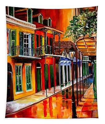 Bold Vieux Carre Tapestry