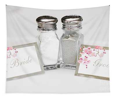 Bride And Groom Tapestry