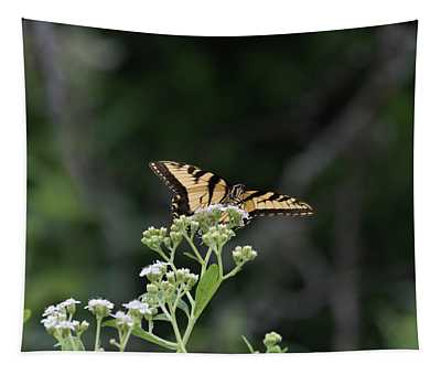 Butterfly Landing Tapestry
