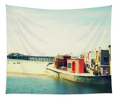 Capitola Venetian- Art By Linda Woods Tapestry