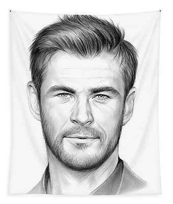 Chris Hemsworth Tapestry