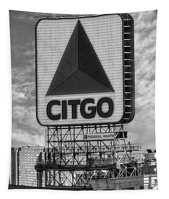 Citgo Sign Kenmore Square Boston Tapestry