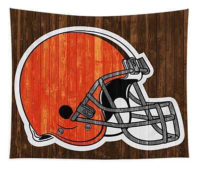 Cleveland Browns Barn Door Tapestry