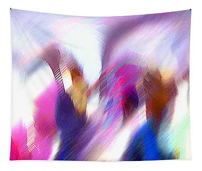 Color Dance Tapestry