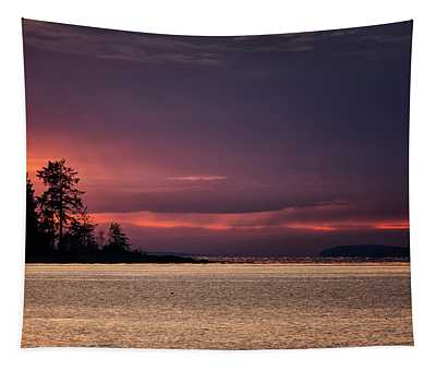 Craig Bay Sunset Tapestry