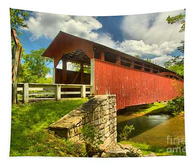 Crossing Over The Juniata River Tapestry