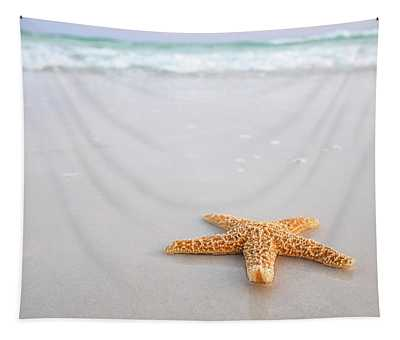 Destin Florida Miramar Beach Starfish Tapestry