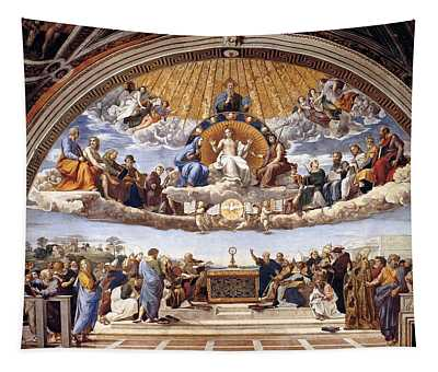 Disputation Of The Eucharist Tapestry