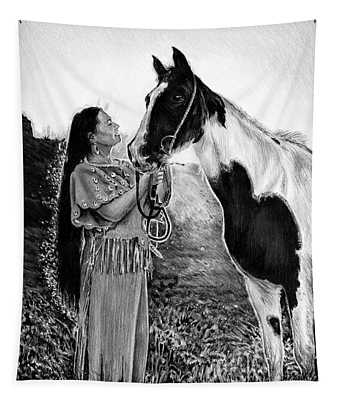 Everlasting Love A Maiden And Spot Tapestry