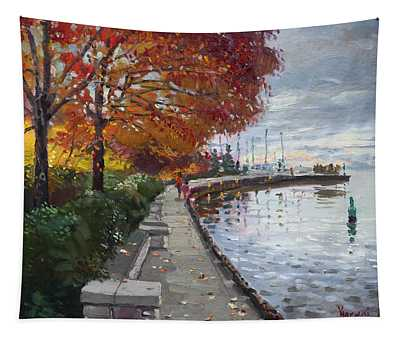 Fall In Port Credit On Tapestry