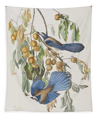 Florida Jay Tapestry