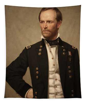 General William Tecumseh Sherman Tapestry