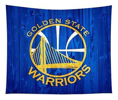 Golden State Warriors Door Tapestry