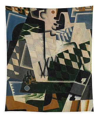 Harlequin With A Guitar, 1917 Tapestry