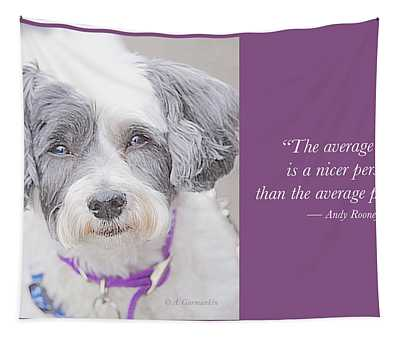 A Nicer Person Tapestry