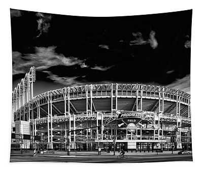 Home Of The Cleveland Indians Tapestry