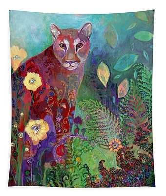 I Am The Forest Path Tapestry