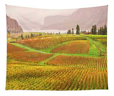 In The Early Morning Rain Tapestry