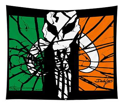 Irish Mandalorian Flag Tapestry