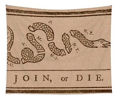 Join Or Die Tapestry