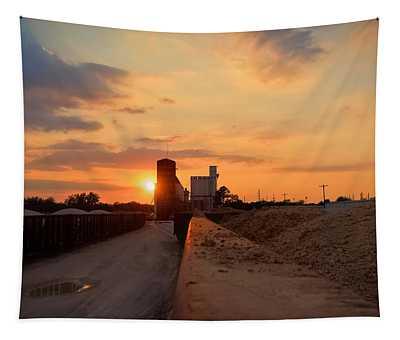 Katy Texas Sunset Tapestry