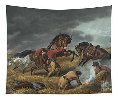 Life On The Prairie Tapestry