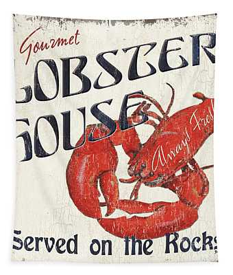 Lobster House Tapestry