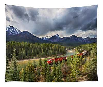 Long Train Running Tapestry