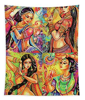 Magic Of Dance Tapestry
