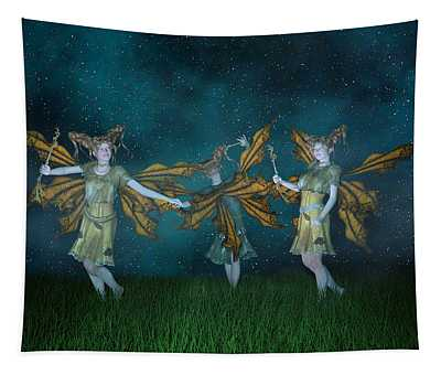 Mischief  Tapestry