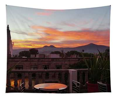 Morelia Sunset Tapestry