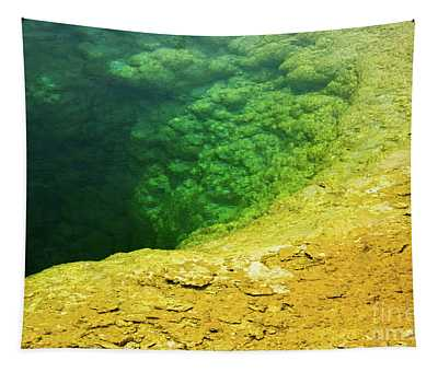 Morning Glory Pool Tapestry